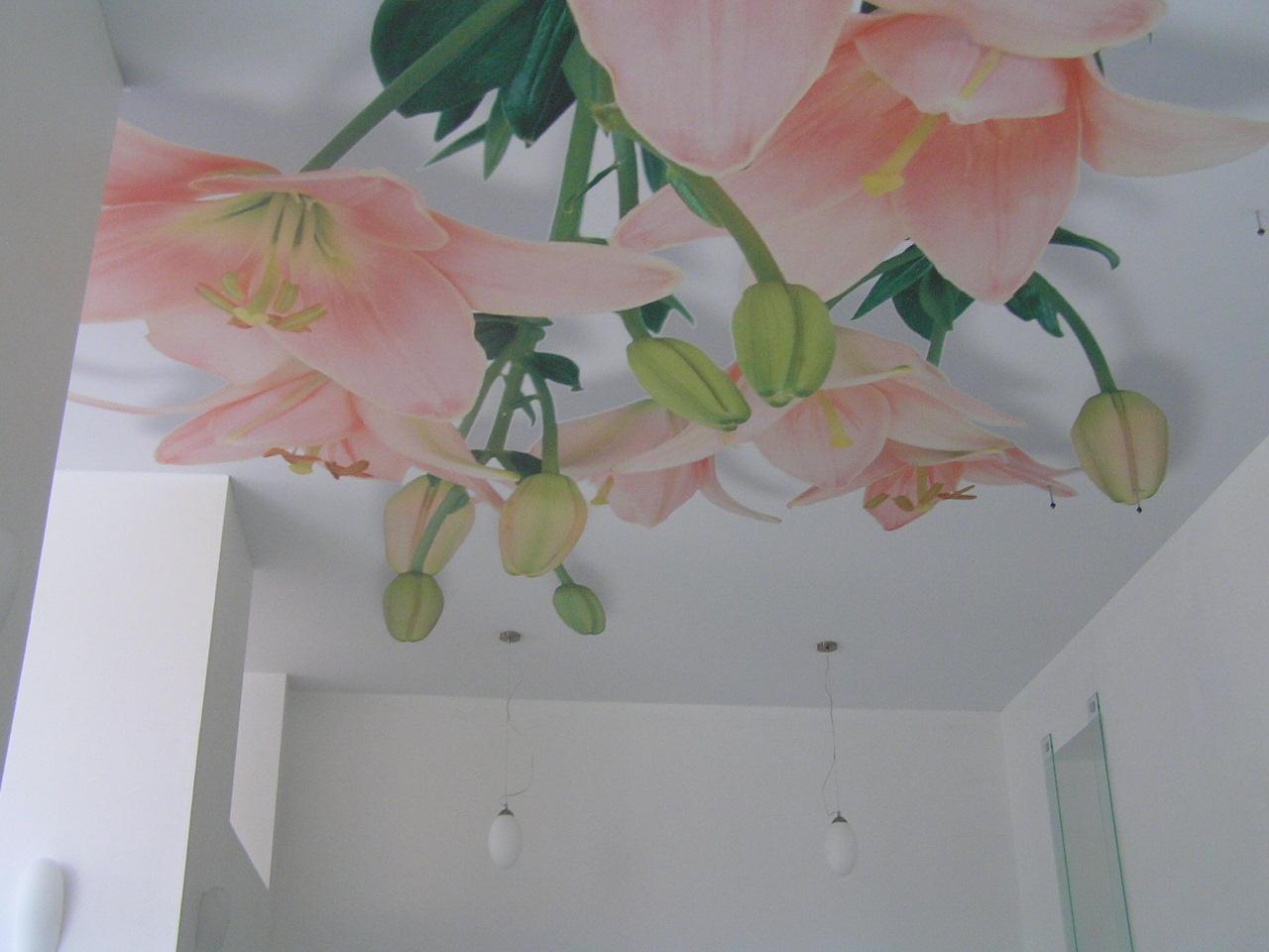 Потолок на даче фото.