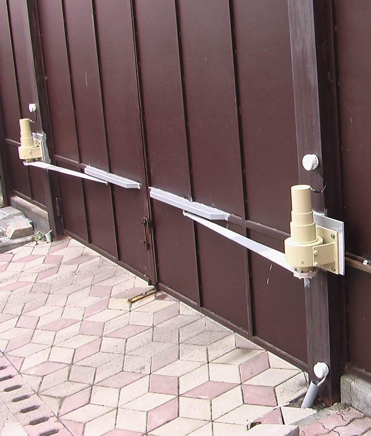 Привод автоматические ворота своими руками