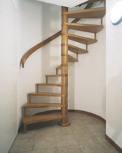 Винтовая лестница редко