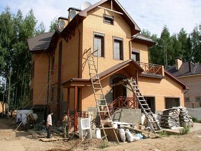 Строительство загородных домов из кирпича