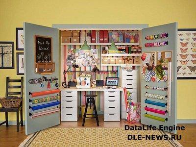 Организация рабочего места для школьника в малогабаритной квартире