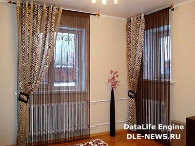 Нитевые шторы: свежее решение для интерьера