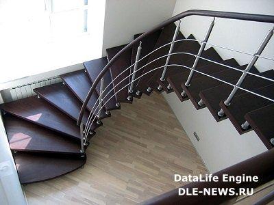 Комбинированные лестницы - украшение современного дома