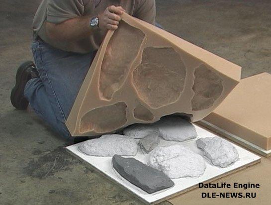 Искусственный декоративный камень своими руками