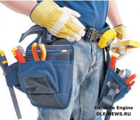 Набор инструментов, необходимых для производства электромонтажных работ