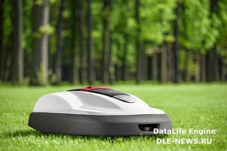 Как выбрать роботизированную газонокосилку