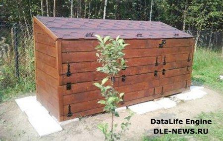 Оборудование компостной ямы на садовом участке