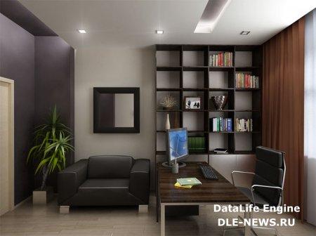 Домашний кабинет – модный интерьер