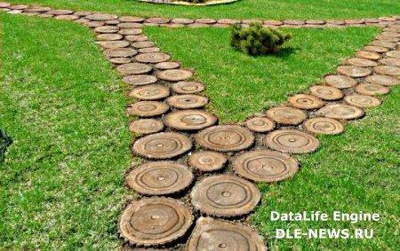 Садовая дорожка – основа дизайнерского решения