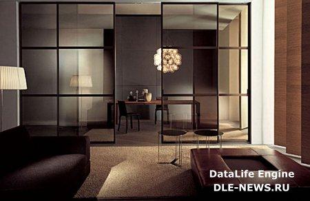 Новый тренд в изменении пространства стеклянными перегородками