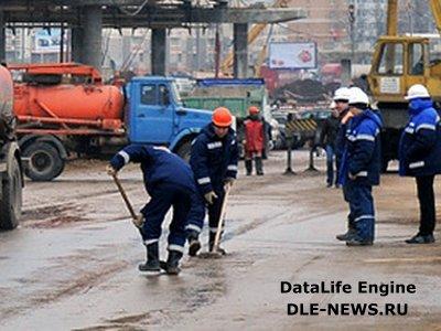 Автомобильная эстакада на пересечении МКАД и Ленинского проспекта откроется через год