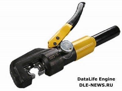 Гидравлический пресс для опрессовки кабельных наконечников
