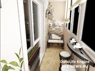 Секреты правильной покраски: балкон