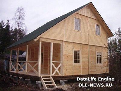 Как быстро построить деревянный дом?
