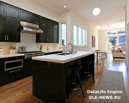 Высокий потолок на кухне: достоинства и недостатки