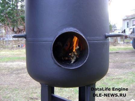 «Ракета» и «Бубафоня» - печи с вертикально устроенной загрузкой