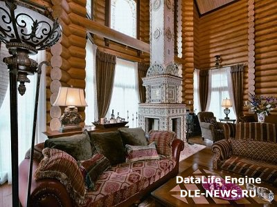 Дизайн интерьера деревянного дома и особенности декорирования