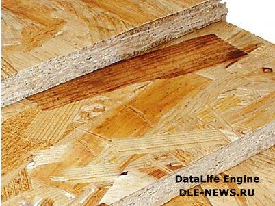 Плиты OSB — высокотехнологичный строительный материал