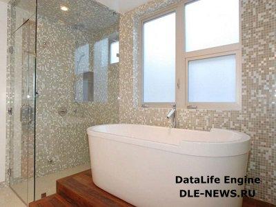 Об отделке стен в ванной комнате