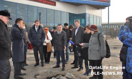 В Иркутске полным ходом идут работы по благоустройству улицы Мира