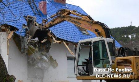 В Ростове-на-Дону в жилом доме демонтировано два этажа