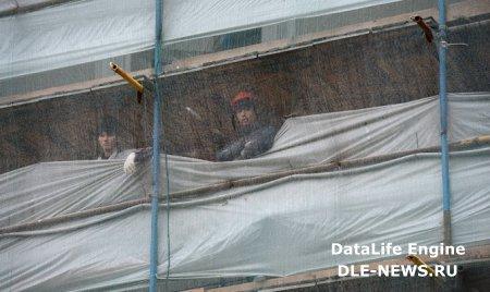 Омск: ремонт дома, который пострадал от взрыва, подходит к концу