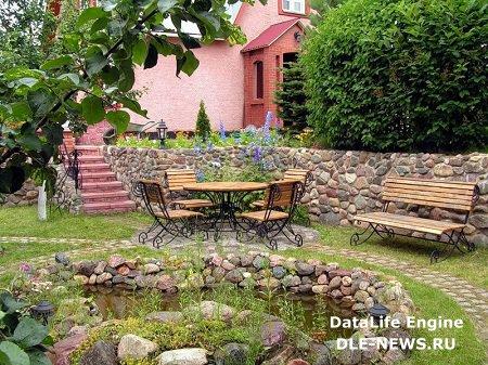 Как придумать дизайн небольшого садового участка?
