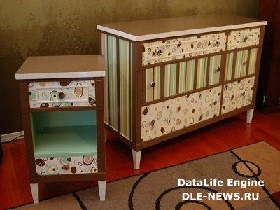 О декорировании старой мебели