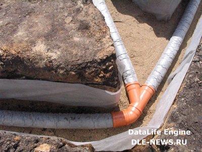 Дренажная система – эффективная защита участка от талых вод