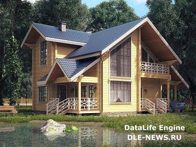 Строительство дачи: древесина