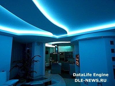 Светодиодные потолочные светильники: яркие краски света