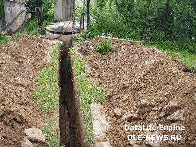 Как провести водопровод в частный дом