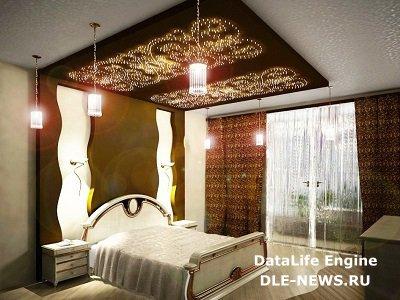 Оригинальное световое решение: фонарь в потолке