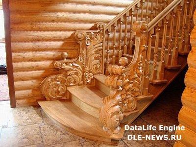 Оборудование лестницы и порога в доме