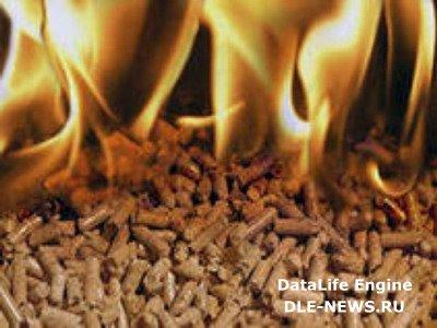 Отопление дома с помощью древесных гранул