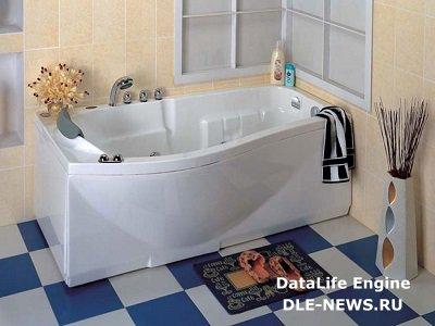 Об установке ванны