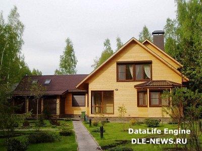 Преимущества загородного дома из клееного бруса