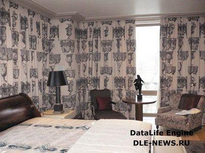 Декорирование стен с помощью ткани