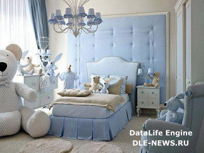 Мебель и освещение в детской комнате