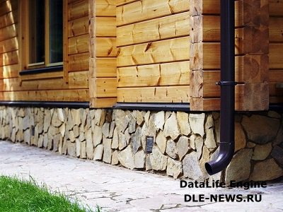 Деревянный дом: внешняя отделка.