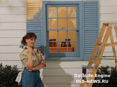 Чем именно красить деревянные окна