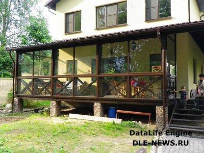 Устройство террасы к дому: виды и способы строительства дачной террасы