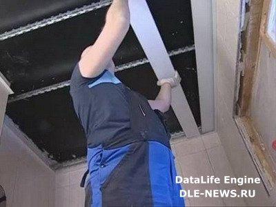 Правила монтажа реечных потолков