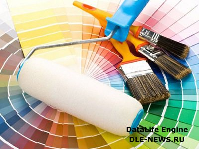 Выбор правильной краски для отделки потолка