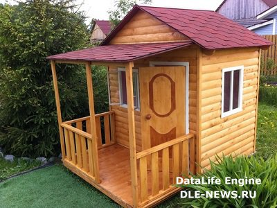 Дачный игровой детский домик