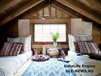 Чердак как самое уютное место в доме