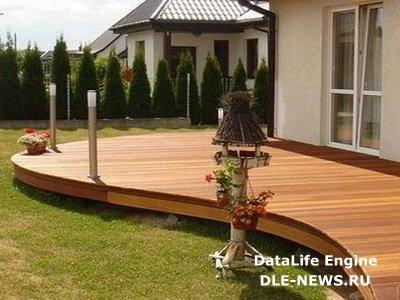 Домашний уют на садовом участке: укладка декинга