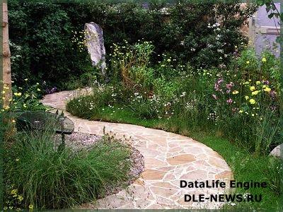 Виды материалов для выполнения дачных и садовых дорожек