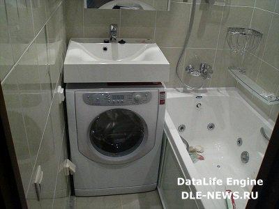 Раковины над стиральной машиной: преимущества и недостатки использования