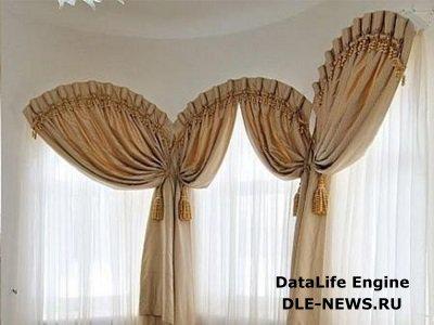 Особенности текстильного декорирования оконных арок